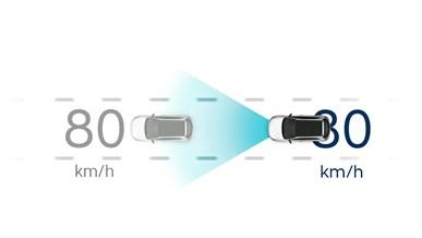 Adaptiv fartpilot med Stop & Go (SCC med S&G)