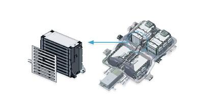 System til opvarmning af batteriet
