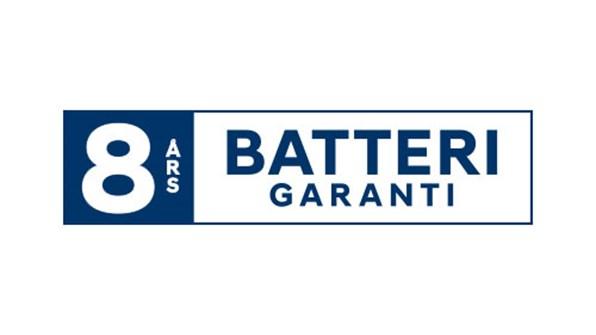 Garanti på batteripakke (højspændingsbatteri)