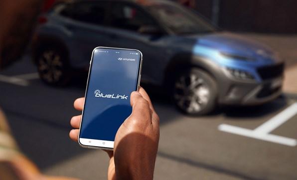 Vær forbundet med din KONA via din smartphone