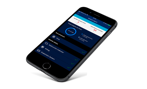 Vær godt forbundet med din TUCSON Plug-in Hybrid via din mobil