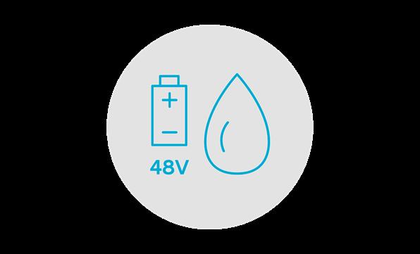 48 volt mild hybridsystem