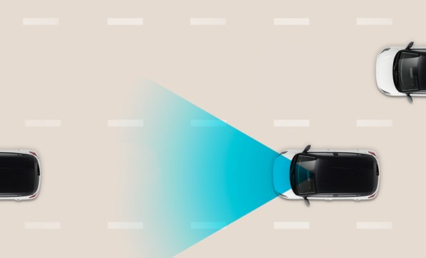 Navigationsbaseret adaptiv fartpilot (NSCC)