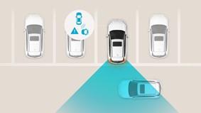 Advarsel for bagvedkrydsende trafik (RCCA)