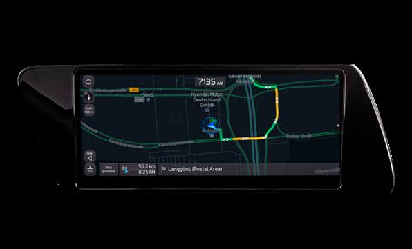 Få live-informationer om den aktuelle trafiksituation
