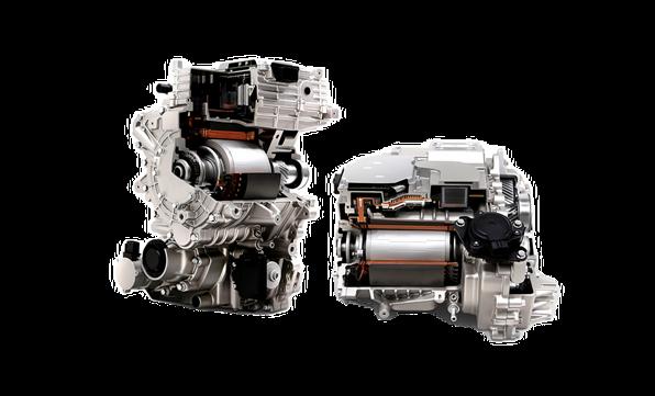To effektive elektriske motorer