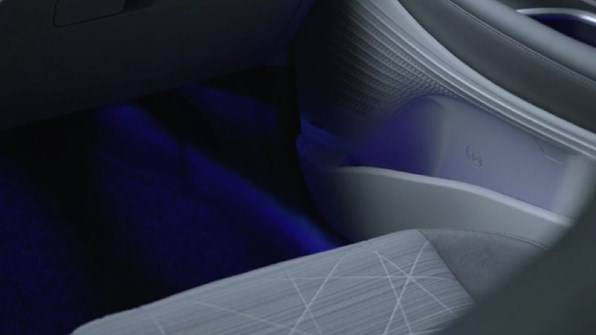 LED ambient lys
