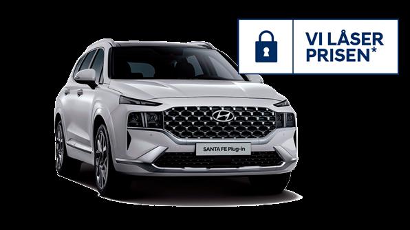 Lås prisen på SANTA FE Plug-in Hybrid