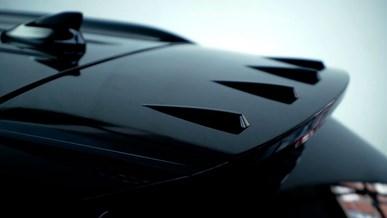 Unik aerodynamisk tagspoiler