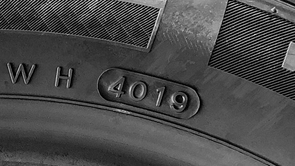 Tjek alderen på dine dæk