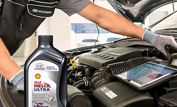 Top-up olie inkl. opbevaringstaske